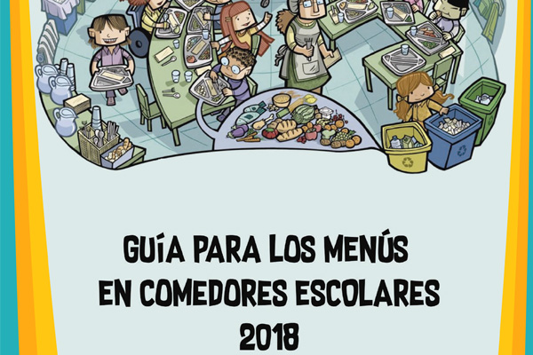 Guía para los menús en comedores escolares